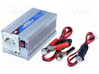 Invertor tensiune 12V-230V 300W Mean Well