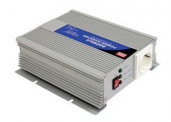 Invertor tensiune 24V-230V 600W Mean Well