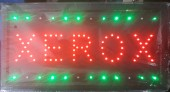 Reclama LED  - XEROX -
