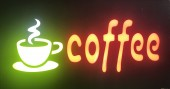 Reclama LED - Coffee - 2