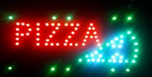 Reclama LED - PIZZA -