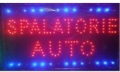 Reclama LED - SPALATORIE AUTO -